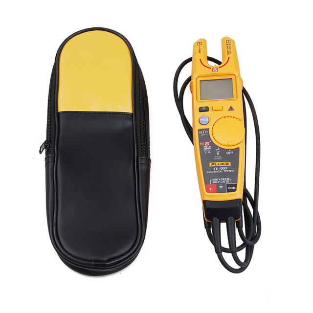 Fluke T6-1000 Clamp Continuity Current Electrical  Clamp Meter and Carry bag