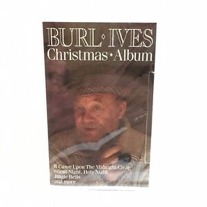 Burl-Ives-Christmas-Album-Cassette-Tape-Silent-Night-Jingle-Bells-New-Sealed