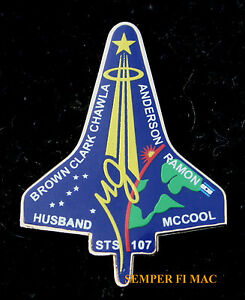 STS-107-SPACE-SHUTTLE-Columbia-MEMORIAL-NASA-HAT-PIN-EOW-2-1-2003-ISRAEL-ISA-WOW