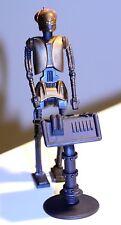 "1997 Star Wars POTF EV-9D9 Action figure collection 2 w/datapad 4 10/16"" high"