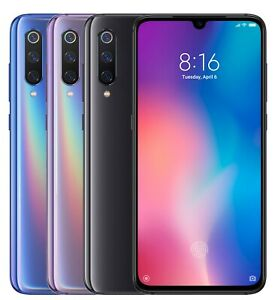 Xiaomi-Mi-9-128GB-FACTORY-UNLOCKED-6-39-034-6GB-Ram-Blue-Black-Violet-Global