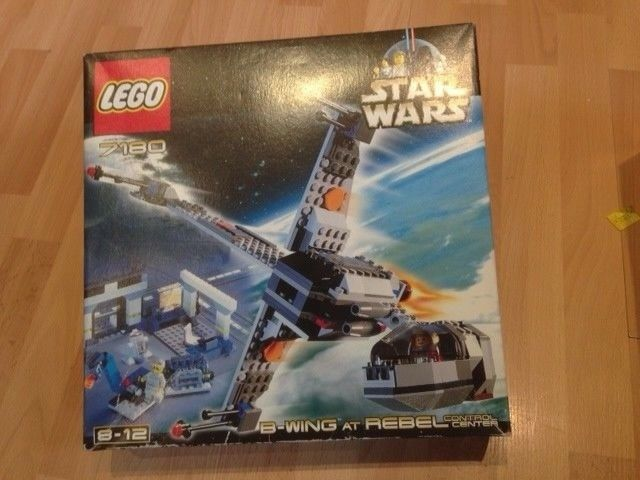 LEGO Star Wars 7180 B-wing at Rebel Control Center  STILL SEALED