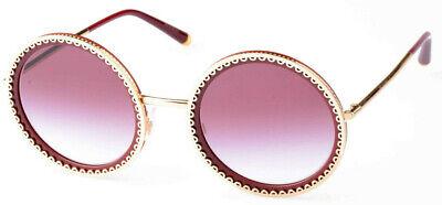 DOLCE /& GABBANA Sonnenbrille//Sunglasses DG4240 2892//8H Gr.54 Insolvenz# 447 71