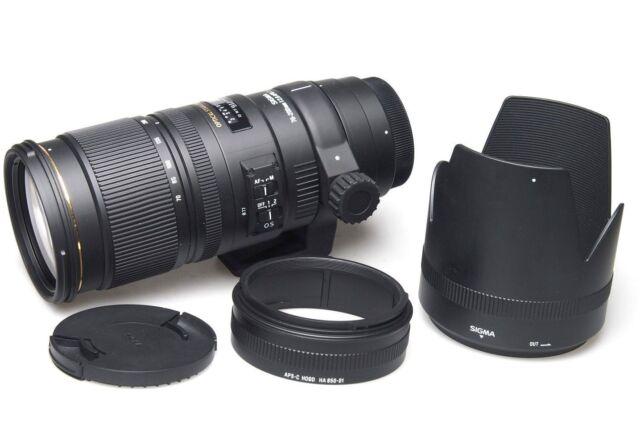 SIGMA 70-200mm f2.8 EX DG OS HSM F Nikon-LIKE NEW/Come nuovo Boxed