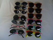 12 pairs CHILDREN'S FASHION SUNGLASSES new 100% UV PROTECTION wholesale lot