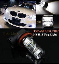 2x H11 H8 CANBUS White OSRAM  LED Fog Light DRL Bulbs  For BMW X3 04+ X5 03+ E53