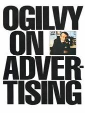 Ogilvy on Advertising by David Ogilvy (1985, Trade Paperback)