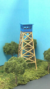 HO-SCALE-Laser-Cut-Forest-Fire-Lookout-Tower-Kit