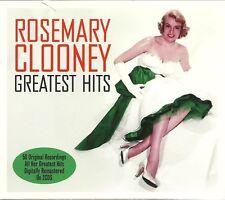 ROSEMARY CLOONEY GREATEST HITS - 2 CD BOX SET - MAMBO ITALIANO, SWAY & MANY MORE