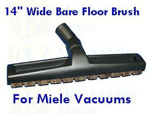 Bare Floor Brush For Miele Bosch Vacuums 14 Quot Deluxe Ebay