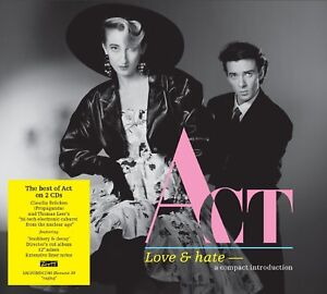 ACT-LOVE-amp-HATE-2-CD-NEUF