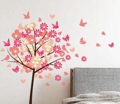 Set of 16 Flying Birds Wall Sticker Nursery Kids Home  MS386PC