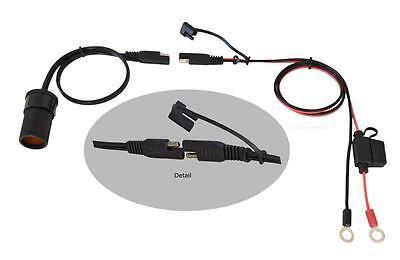 Adapter für Optimate Ladekabel SAE72 auf Zigarettenanzünder