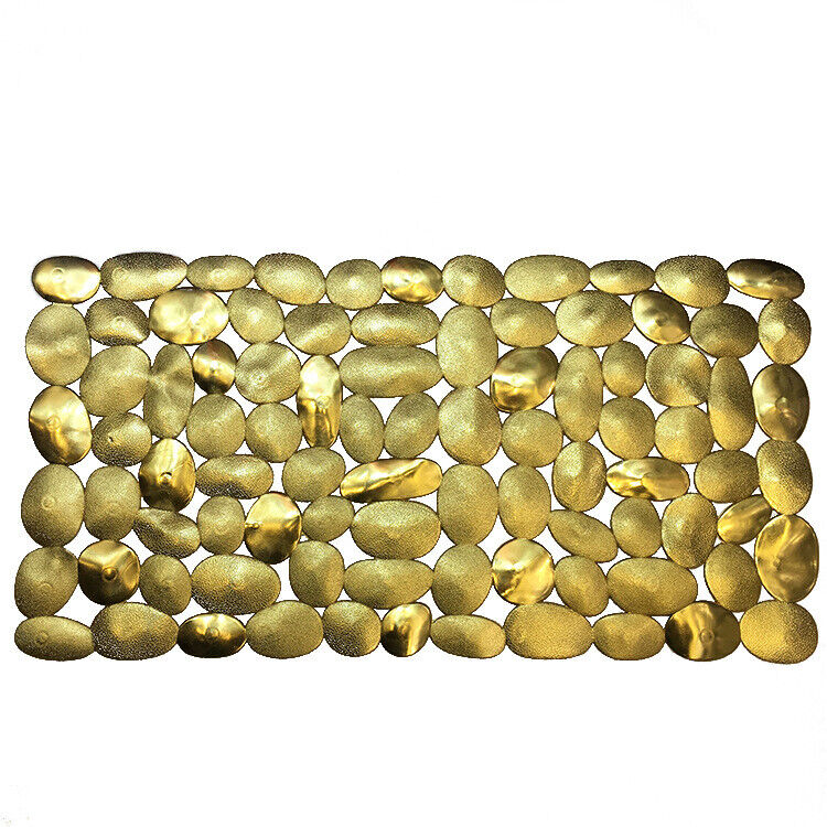 Luxury Non-Slip Mat Pebbles Bath Mat for Bathroom Kitchen Decorative Shower Mat