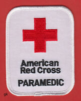 American Red Cross Paramedic Shoulder Patch