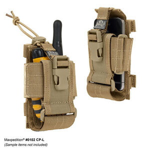 Maxpedition-0102K-CP-L-CELL-PHONE-RADIO-CASE-KHAKI