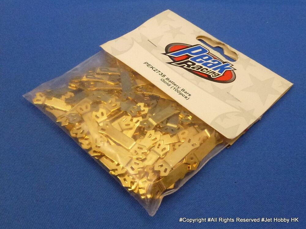 Batería (Peak PEK2735) barras de oro 100 un. ni-cd Ni-mh Sanyo Panasonic Grand Prix