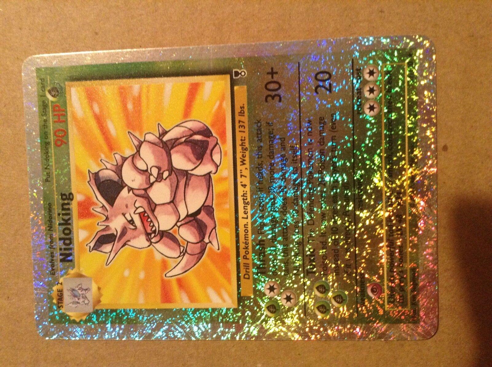 Pokemon Card - Nidoking - (31 110) Legendary Collection Reverse Holo - NM MINT
