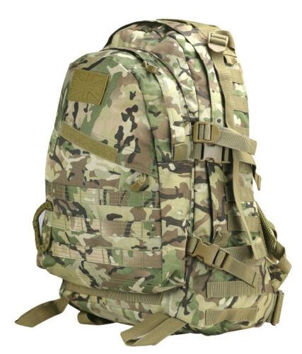 Armée combat militaire special ops molle à dos sac jour pack sac BTP 45L