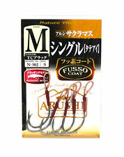 Size 1//0 Sasame N-304 Trout Spoon Twin Assist Hook Keimura M 3247