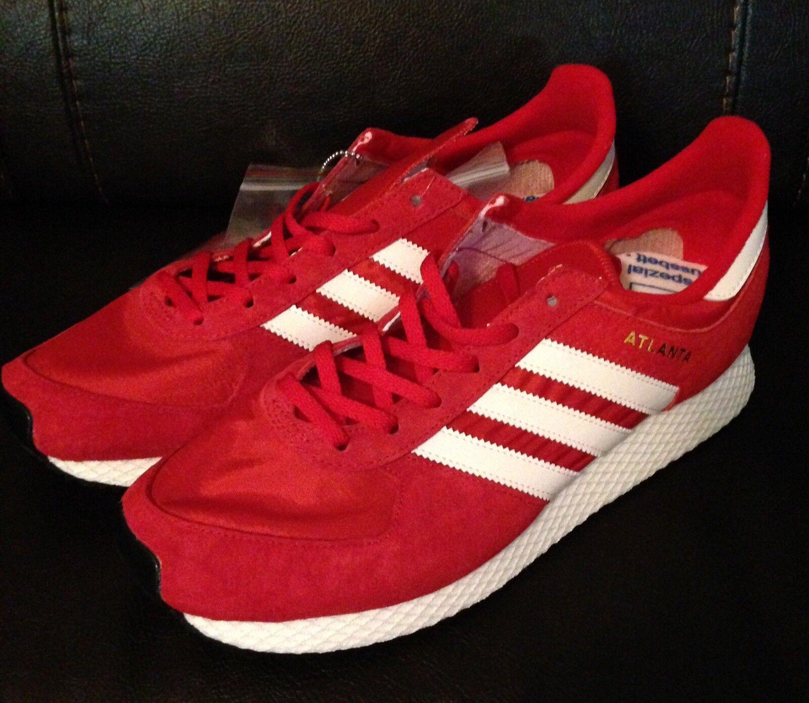 Adidas originali spezial atlanta spzl scarlet oro / gesso bianco / oro scarlet by1880 numero 10 47d32d