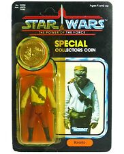 Vintage Kenner Star Wars POTF Barada Last 17 Mint on Card w/Coin Unpunched MOC