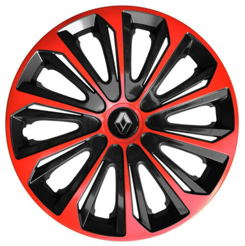 """16/"""" Whell trims wheel covers fit Renault Trafic 4x16/'/' inches red-black"""