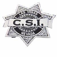 Crime Scene Investigation Csi Las Vegas Badge Embroidered Patch