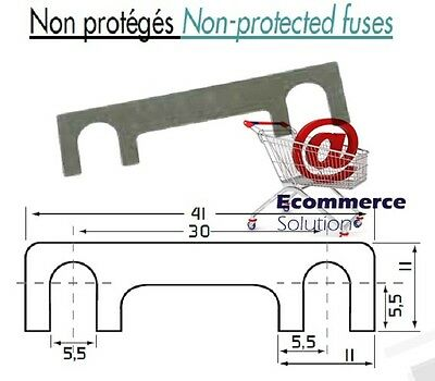 5 pack blade fuse maximum current 80 an amp r1103 din 72581 non protege