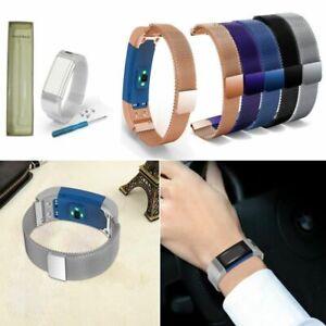 fuer-Garmin-Vivosmart-HR-Magnetic-Milanese-Edelstahl-Armband-Uhrenarmband-Strap
