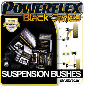 Ford Fiesta Mk5 inc Zetec-S (1999-2002) POWERFLEX BLACK SERIES MOTORSPORT BUSHES