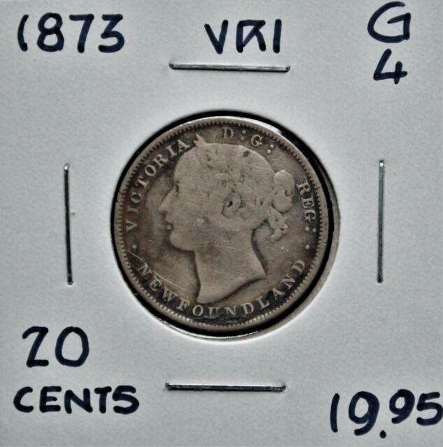 1873 Newfoundland 20 cents G-4