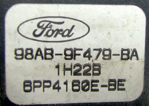 MAP-capteur ladedruksensor 98ab-9f479-ba FORD FOCUS 1,8 Original