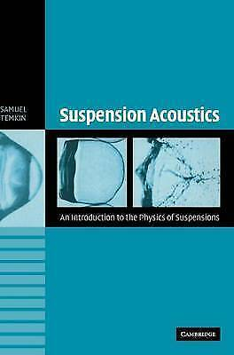 1 of 1 - NEW Suspension Acoustics: An Introduction to the Physics of Suspensions