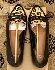 item 2 UGG Australia Coty Women Flats Calf Hair Leopard Leather 1015236 Loafers Shoes 7 -UGG Australia Coty Women Flats Calf Hair Leopard Leather 1015236 ...