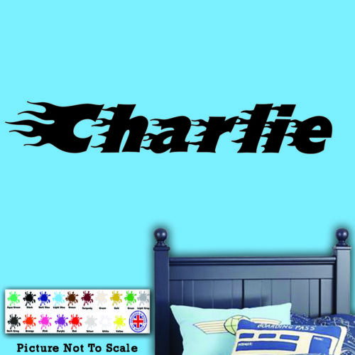 Kids Bedroom Wall Art Any Girl // Boy Name Personalised Name Wall Sticker