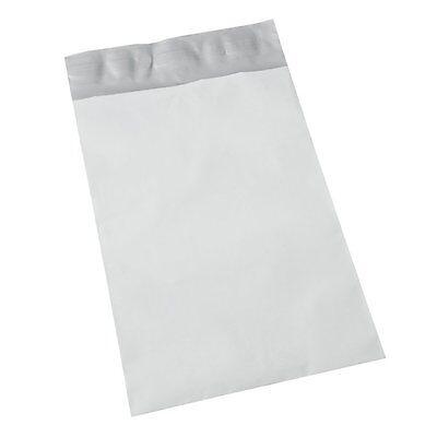 1000 12x15.5 large bags NO BUBBLES Generic White Poly Mailer Self Seal BULK LOT