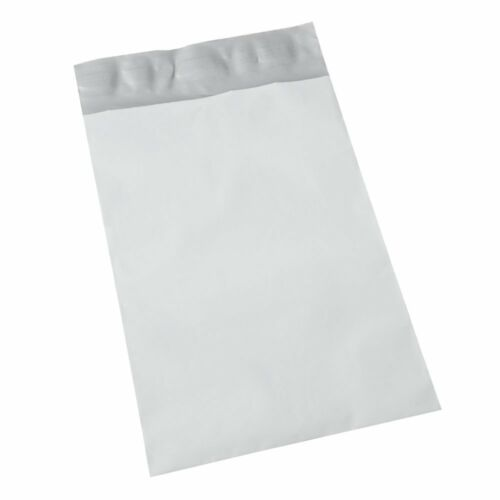 Lot of 40 12x15.5 Mailing Bags Self Seal Large Mailers White Poly Bag No Bubble