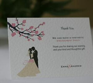 20-100-Personalised-Engagement-Thank-You-Cards-Blossom-Silhouette