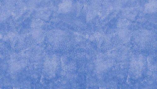 "B10 Baumwollstoff Makower /"" Dimples /"" hellblau"