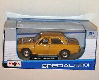 Datsun 510 1971 Yellow MAISTO 1:24 MI31518Y Model