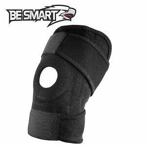 Black-Neoprene-Adjustable-Open-Knee-Patella-Tendon-Support-Brace-Sleeve