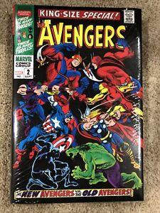 Avengers Omnibus Vol 2 DM Variant HC Buscema First Print OOP Rare Marvel Vision