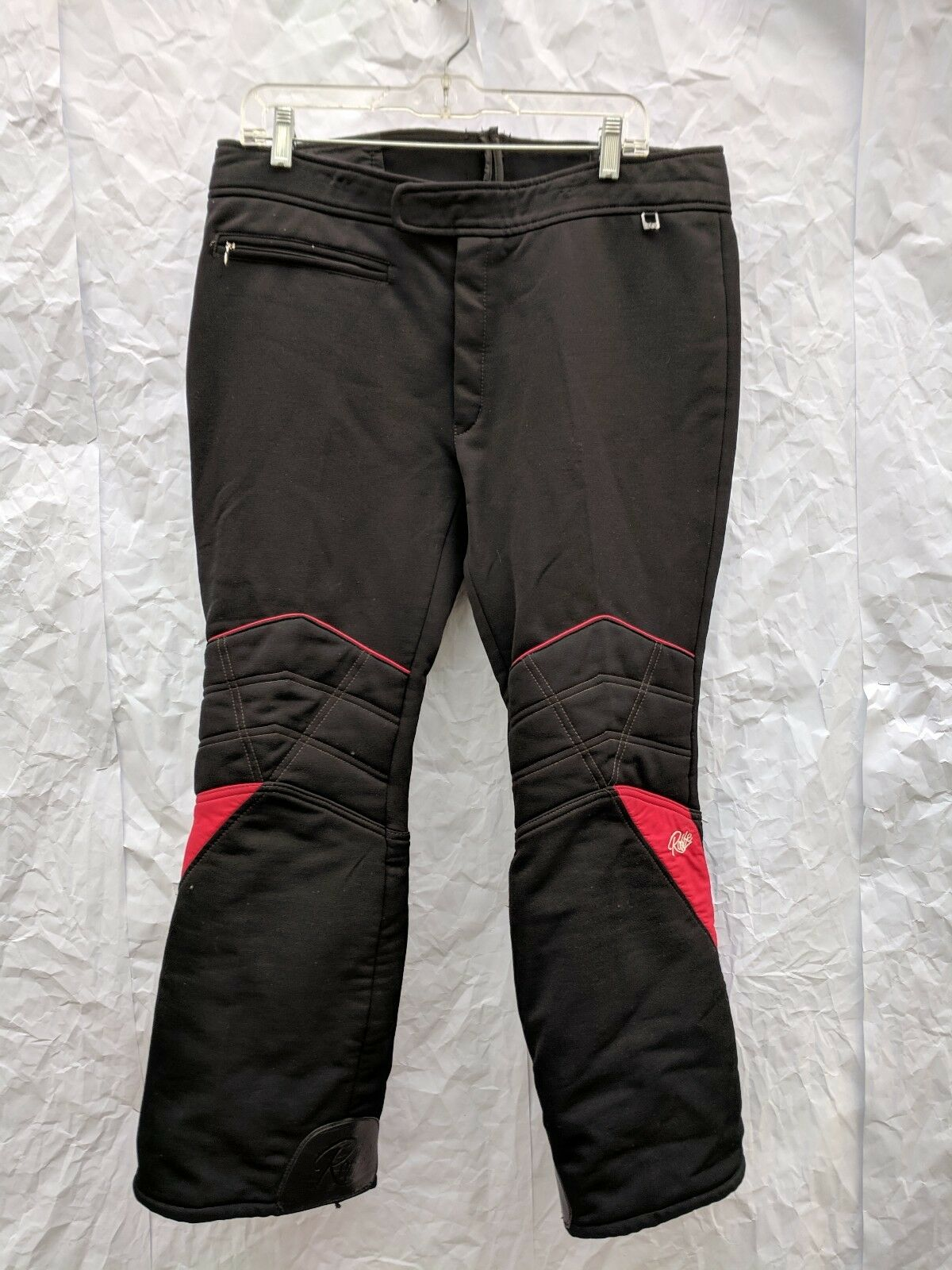 Vintage Roffe Flash Ski Racing Pants Mens 36-38 Short (altered) Made in USA