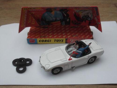 Corgi Toys Nº 336 James Bond Toyota 2000GT Neumáticos Conjunto de 4 New#1 marca