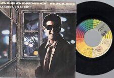 ALEANDRO BALDI disco 45 giri MADE in ITALY La curva dei sorrisi + Perdo te 1987