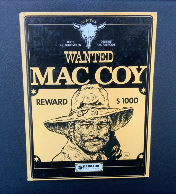 Mac Coy. Wanted. Dargaud 1977 EO