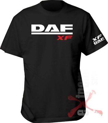DAF TRUCKS LOGO UNISEX T-SHIRT S-3XL DAF XF CF LF HAULAGE DRIVER TRUCKER GIFT