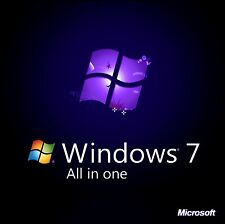 Windows 7 All Versions 32/64bit Recovery USB Flash Drive & DVD w/HD Option