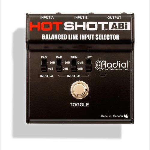 Radial HOTSHOT ABI Line Input Selector